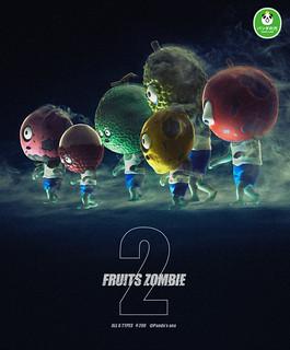 大好評再登場~ 『熊貓之穴』《水果殭屍》第二彈來啦!!!