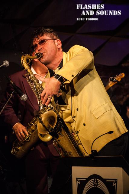 Ray Gelato & Barcelona Big Blues Band feat Sax Gordon, Dani Nel·lo & Dani Pérez05