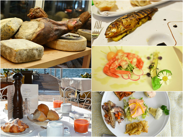 Italian Lakes Food Montage