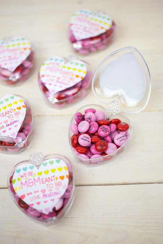 Free Printable M&M Valentines