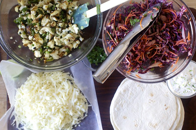 what you'll need + lazy slaw, if you please