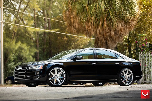 audi a8l on 22 vossen cv7 concave wheels vossen wheels 2015 1001 flickr photo sharing. Black Bedroom Furniture Sets. Home Design Ideas