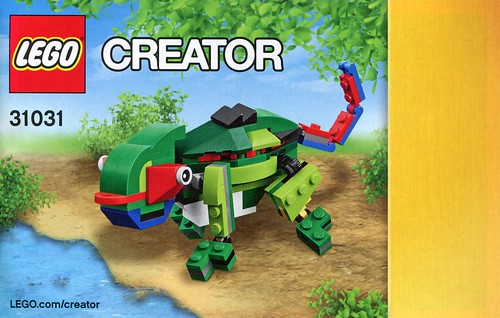 LEGO Creator 31031 Rainforest Animals ins05