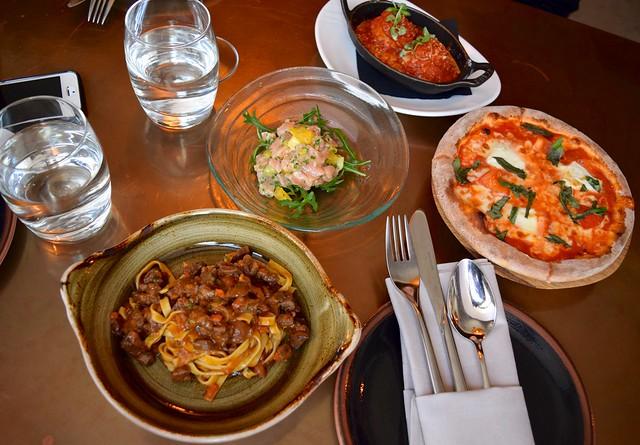 Italian Sharing Plates at Cucina Asellina, Covent Garden