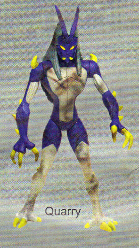"""LEE'S TOY REVIEW #xx, pg. 36 / """"TOY FAIR 2004"""" , 'TMNT - 2k3 Peek' - """"QUARRY"""" early prototype (( March 2004 )) by tOkKa"""