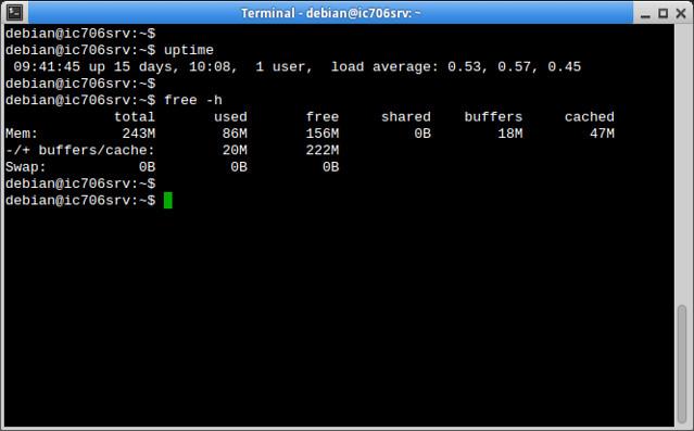 IC-706 remote server status
