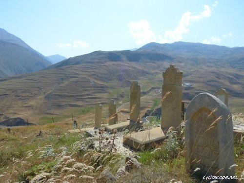 art azerbaijan caucasus scape kinaliq