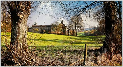 belgium belgique paysage château wallonie sprimont provincedeliège gomzé châteaudegomzé