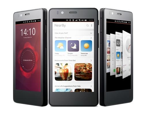 Первый смартфон с Ubuntu