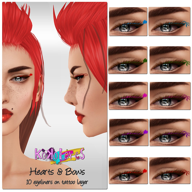 [KoKoLoReS]BP- Hearts & Bows Eyeliner