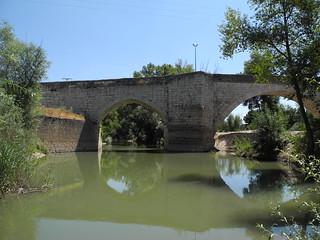 Puente Duero. Puente sobre el Duero