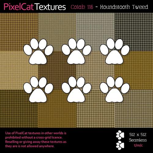 PixelCat Textures - Houndstooth Tweed