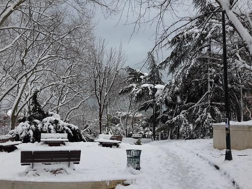 Isztambul nyakig a télben