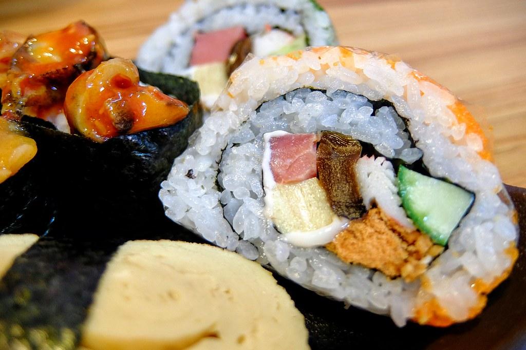 就中規中矩的壽司