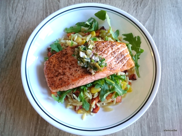 Salmon and Herb Salsa