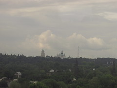 Chernihiv. view from the train window