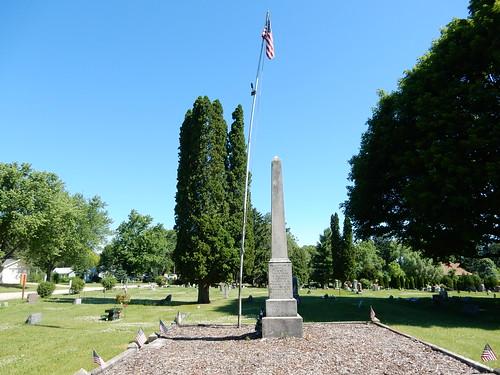 06-17-2016 Ride Wyocena Civil War Memorial