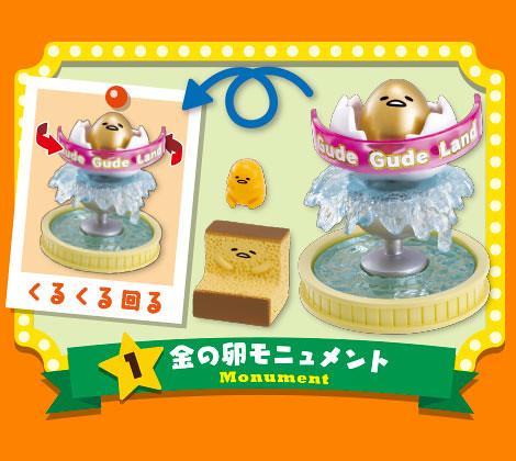 RE-MENT【蛋黃哥的遊樂園】讓人非常失控的遊樂設施啊啊!!