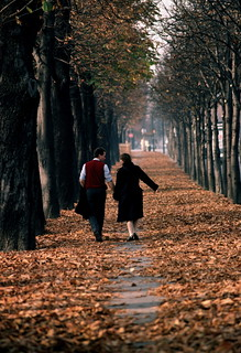 Walking, Paris