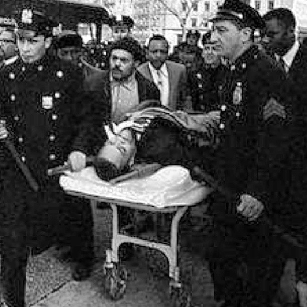 Malcolm X, rushed to hospital across street from where he ...