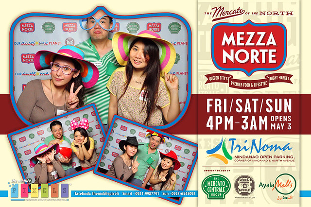 Sumi, Aldous and Berylle at Mezzo Norte Trinoma