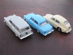 GAZ M20 Pobieda, M21 Volga & M22 Volga Universal