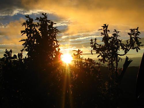 peru sunrise cajamarca celendin