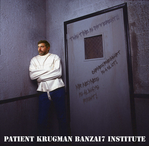 PATIENT KRUGMAN by WilliamBanzai7/Colonel Flick