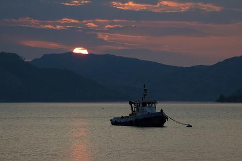 sunset scotland lochduich invershiel afsnikkor28300mmf3556gedvr