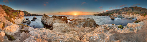 ocean california panorama beach monterey pacific pano bigsur carmel hdr carmelbythesea