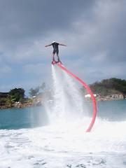 Flyboard een andere manier van vliegen