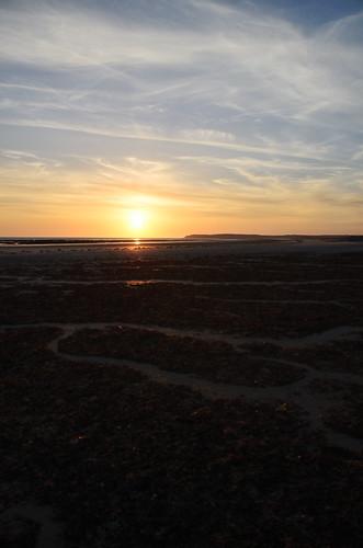sunset mer beach soleil 50 plage manche coucherdesoleil carteret cotentin portbail barnevillecarteret cotesdesisles