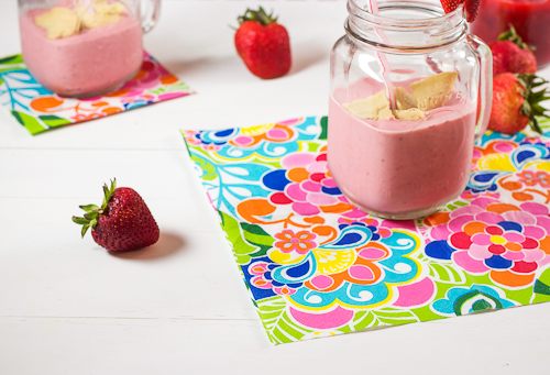 Strawberry Rhubarb Pie Milkshake
