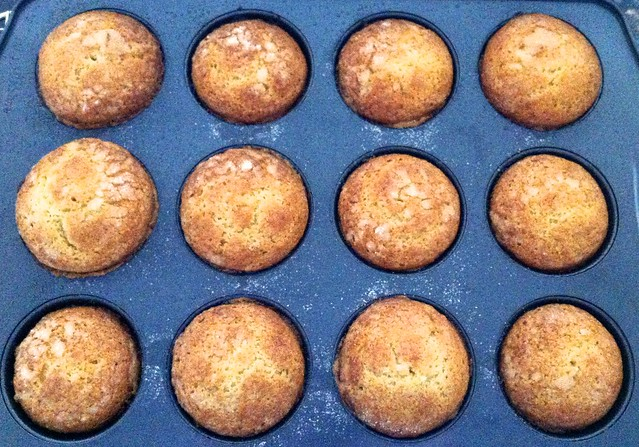 Corn Muffins, After Baking
