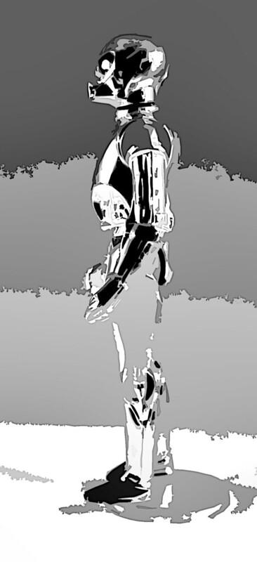 psybertech's Star Wars Figures Artwork Limelight 9093314949_59121e1ba1_c