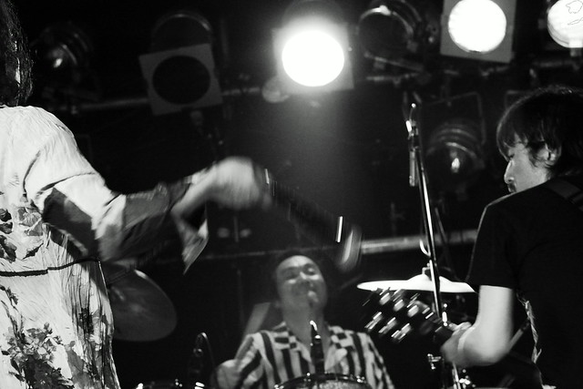 THE ELECTRIC EEL live at ShowBoat, Tokyo, 27 Jun 2013. 306