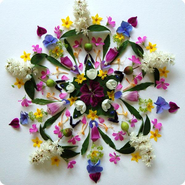 bloemen-mandala