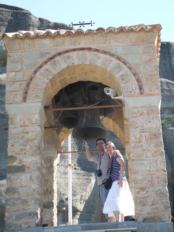 Exterior del Monasterio Agios Nikolaos, en Grecia.
