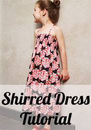 Shirred Dress Tutorial