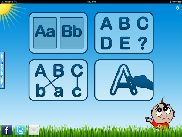 Letter Quiz App - For Toddlers - Kaelah Bee