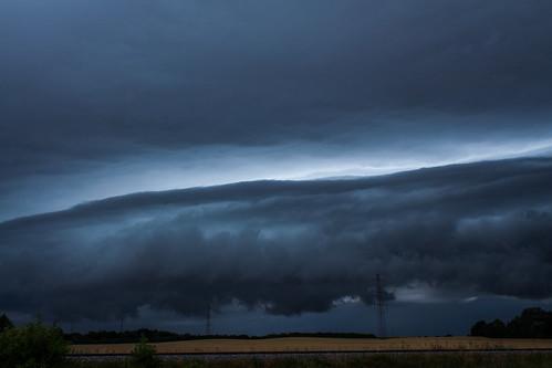 sky storm field clouds sunrise skyscape landscape day asperatus asperatusclouds