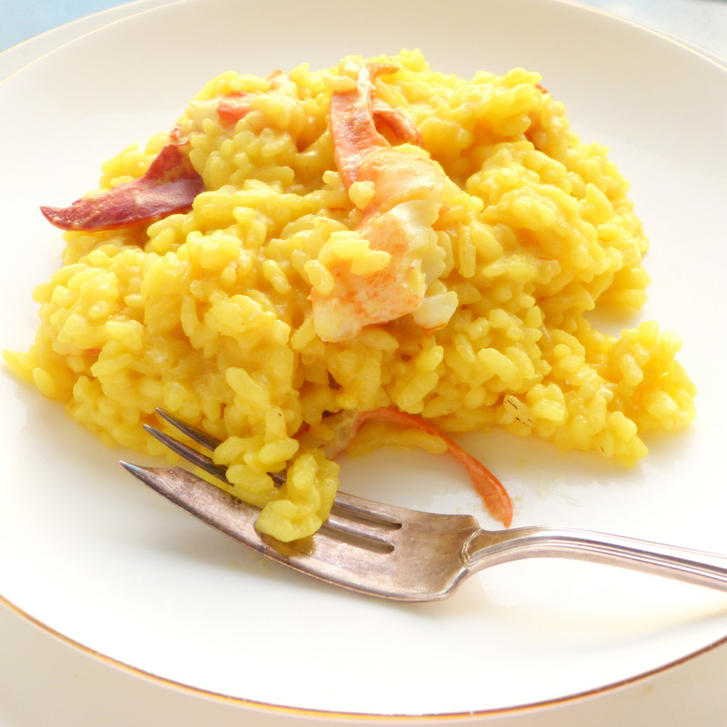 Lobster and Saffron Risotto