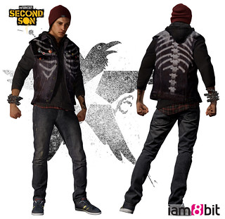 inFAMOUS Second Son: iam8bit Vest