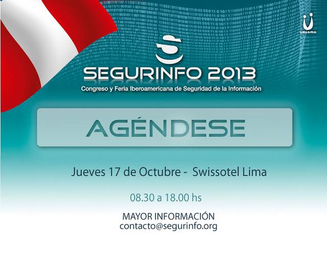 SEGURINFO Perú 2013