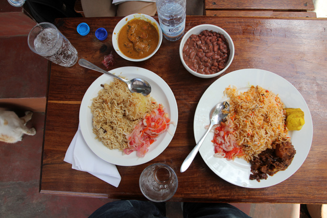 Round one at Lukmaan Restaurant