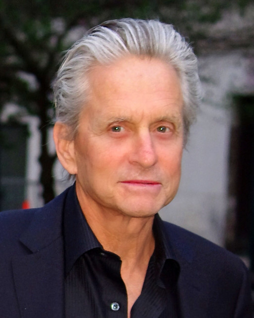 Michael Douglas in New York