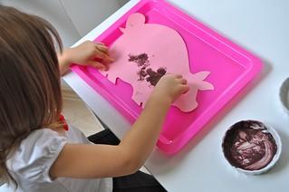 Muddy Pig Painting