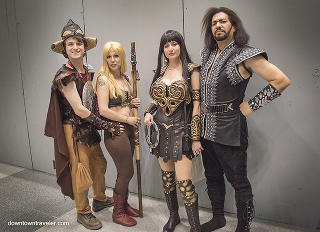 NY Comic Con Group Costume Xena Warrior Princes