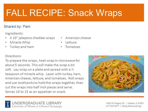 snack wraps recipe