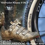 CycloCross Klasse2 UCI Ardooie 17 oktober 2013